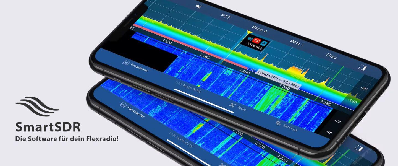SmartSDR Software von Flexradio