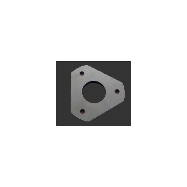 Abspannteller 3fach für Steckmastsegment