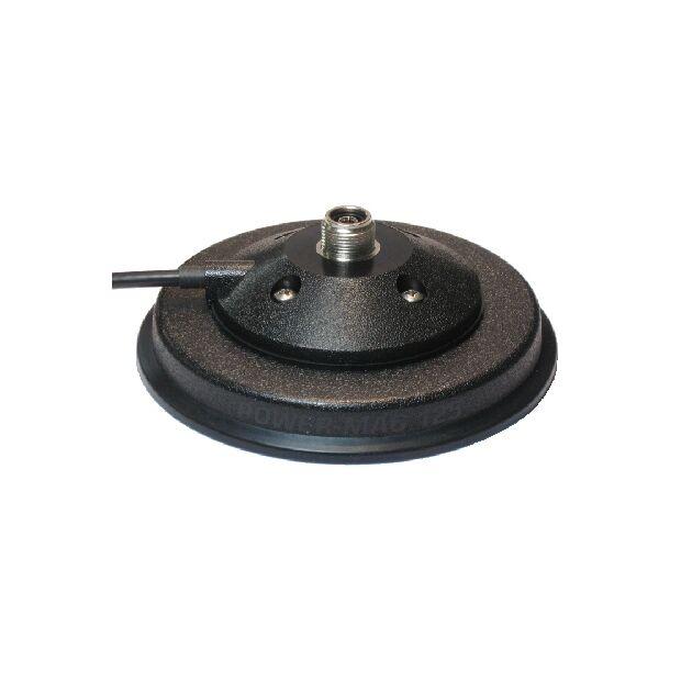 Sirio MAG 125-3/8 Magnetfuß d=125mm; 3,6 m Kabel RG 58/PL 259