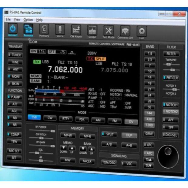 RS-BA1 Version 2 - Fernbediensoftware zur Netzwerksteuerung
