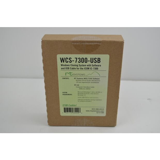 WCS-7300 Programmiersoftware IC-7300