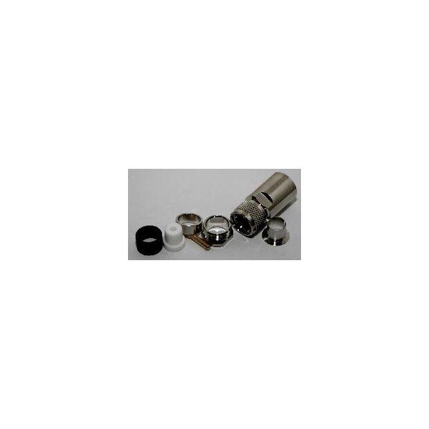 lötfreier UHF-Stecker für ECOFLEX 15