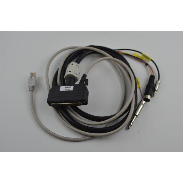 DB37-IC13 - Anschlusskabel MICRO-KEYER für ICOM 13pol