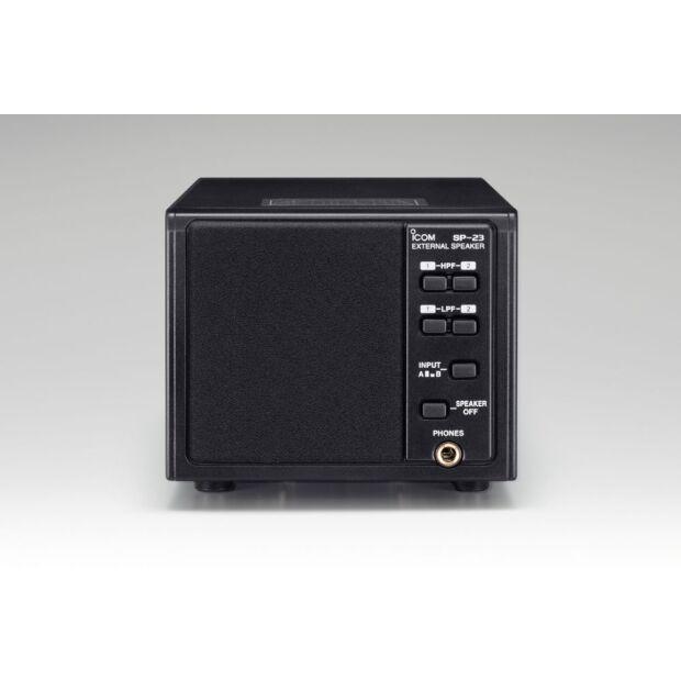 SP-23I - Exter. Lautspr. 4 Audio-Filter + Kopfhörerbuch.