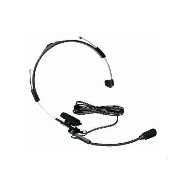 KHS-21W - Kopfhörer mit Schwanenhalsmikrofon