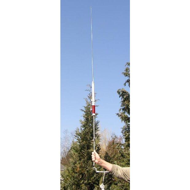 HF-P1 Portabel KW Antennen 80m-10m, 2m, 70cm