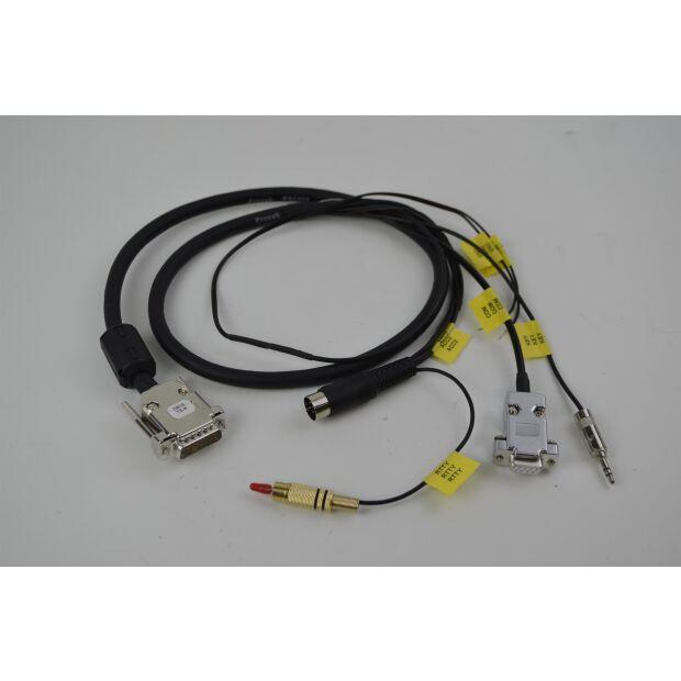 DB15-TS9 - Kabel für diverse Kenwood-Geräte