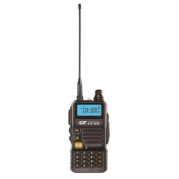 FP 00 - CRT - Dual Band VHF/UHF Handfunkgerät Black