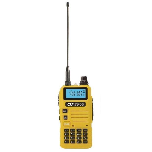 FP 00 - CRT - Dual Band VHF/UHF Handfunkgerät Yellow