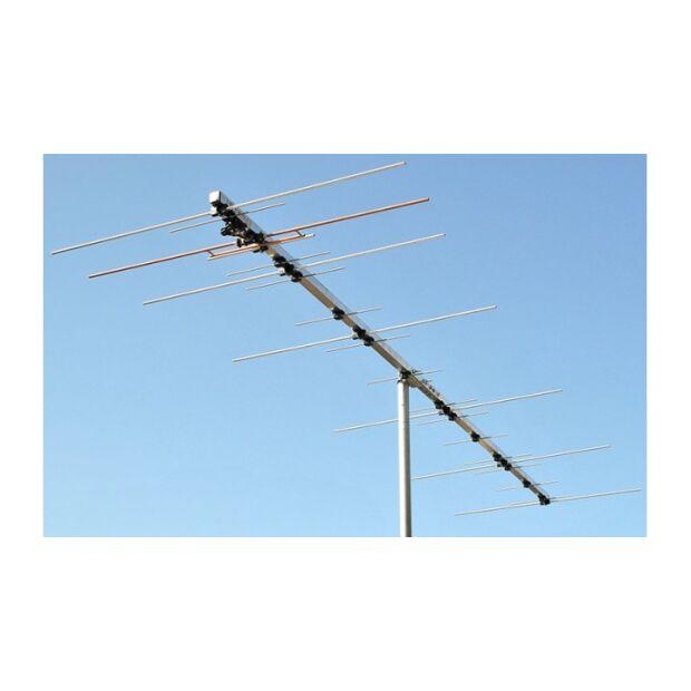 """PA144-432-21-3 1kW-2m 750W-70cm Duoband Yagi mit gemeinsamen """"N"""" Anschluß"""