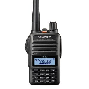 FT-4XE VHF/UHF Dual Band FM Transceiver