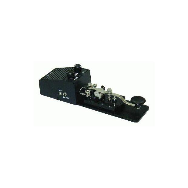 MFJ-557 CW Morsetaste mit eingebautem Lautsprecher