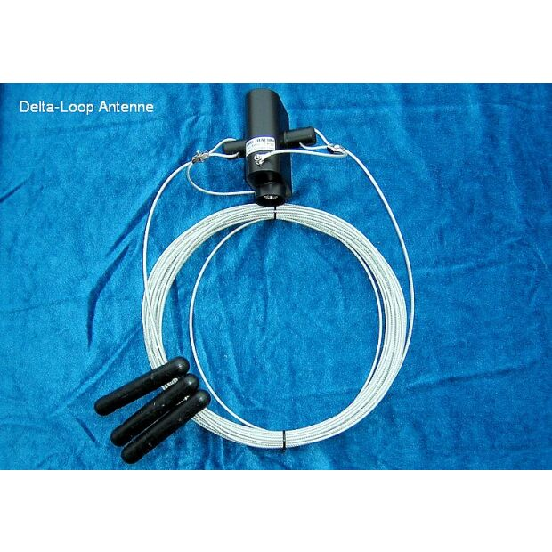 Delta-Loop 80m Monoband Drahtantenne 85m