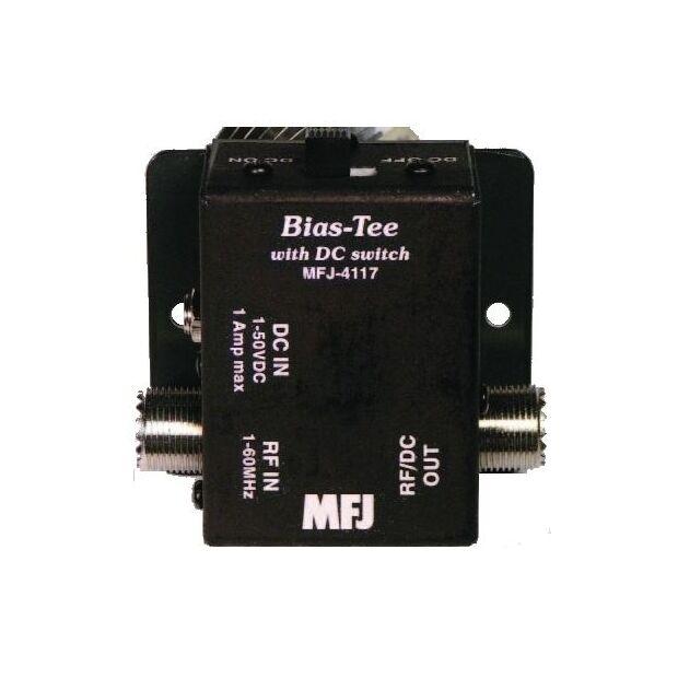 MFJ-4117 Fernspeiseweiche mit Schalter