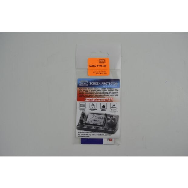 Display-Schutzfolie für FTM-400 - alle Modelle