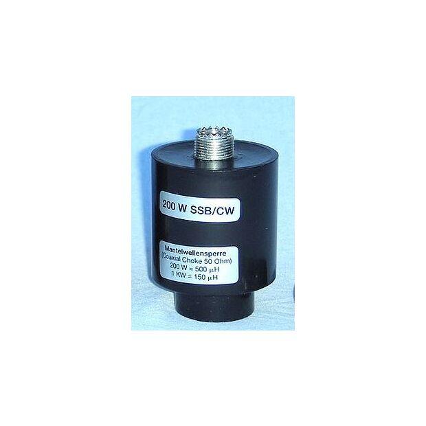 Mantelwellensperre PL,  200 Watt SSB/CW