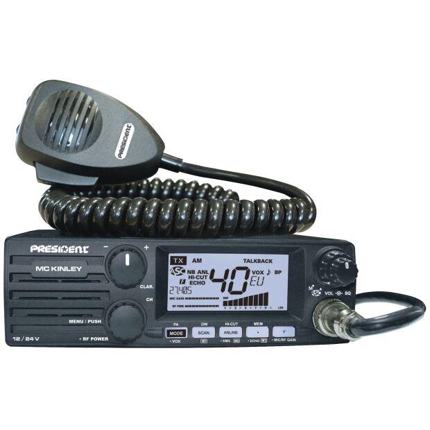 President McKinley ASC 12/24 Volt AM/FM/SSB Transceiver