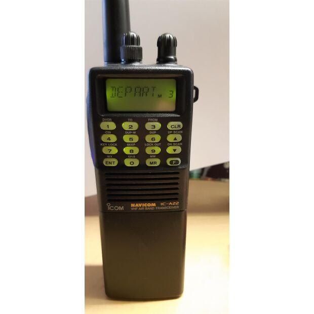 IC-A22 Navicom - Gebraucht/Provisionsartikel