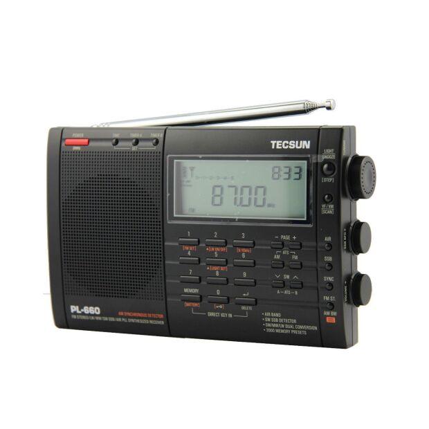 Tecsun PL-660 PLL SSB Weltempfänger mit 2000 Speichern