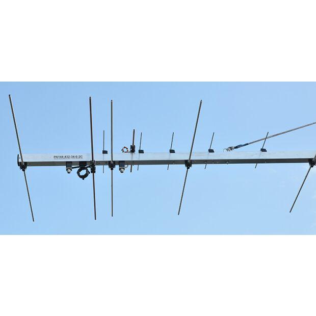 PA144-432-34-6-2CB Dualband Yagi 2m/70cm