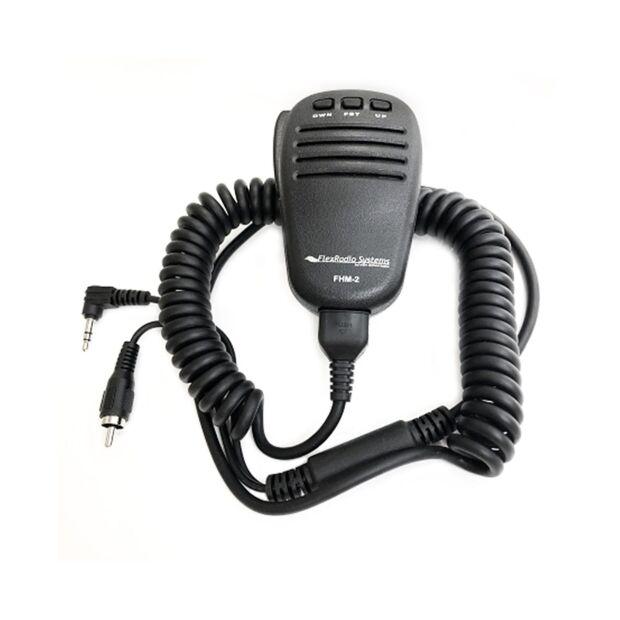 FHM-3 - Handmikrofon mit 3,5mm TRS und RCA