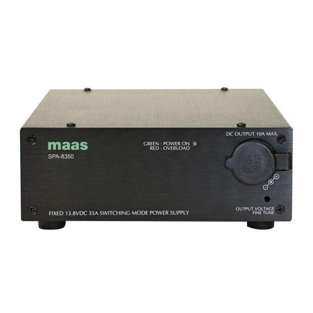 Maas / K-PO SPA-8350 Schaltnetzteil 13,8 Volt 35 Ampere