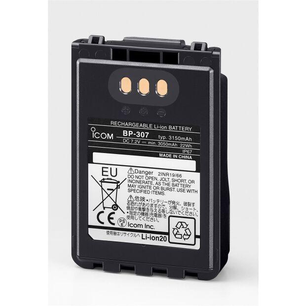 BP-307 - Li-Ion-Akku 7,4V/3150mAh für IC-705. ID-52