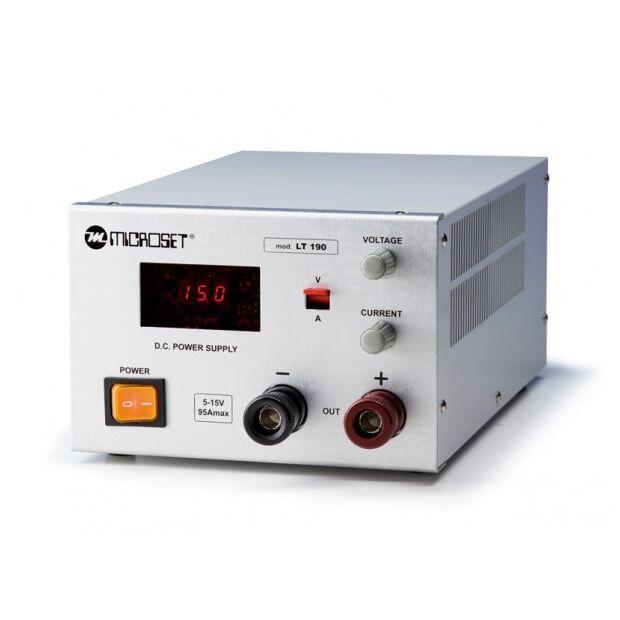 MICROSET LT-190 regelbares Schaltnetzteil 24-90A