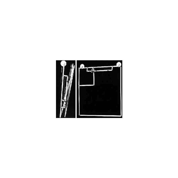Fensterquad Duoband 2/70 mit 2 Saugern