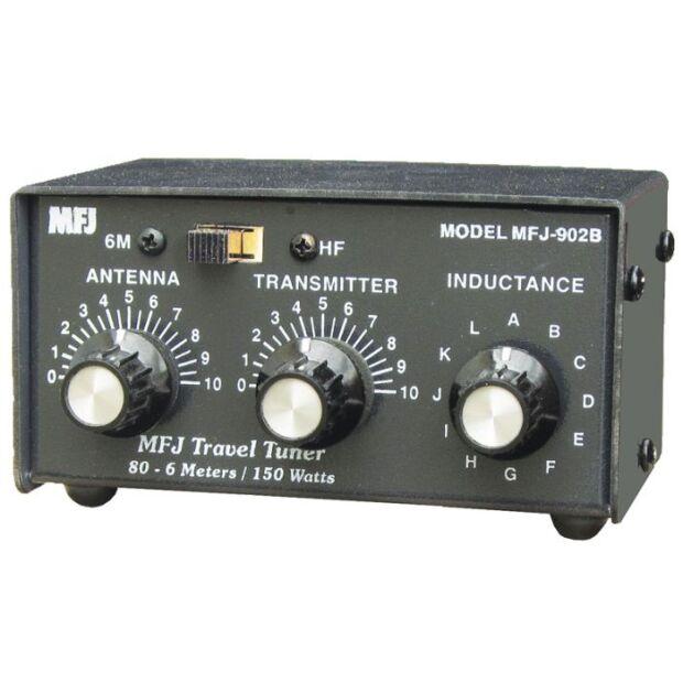 MFJ-902B - 1,8-30 MHz 150 W, 1x Koax