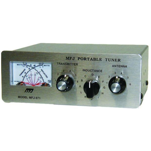 MFJ-971 - 1,8-30 MHz, für Hühnerleiter, Langdraht, 1x Koax