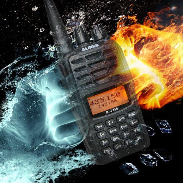 Alinco DJ-VX-50-HE Handfunkgerät VHF/UHF