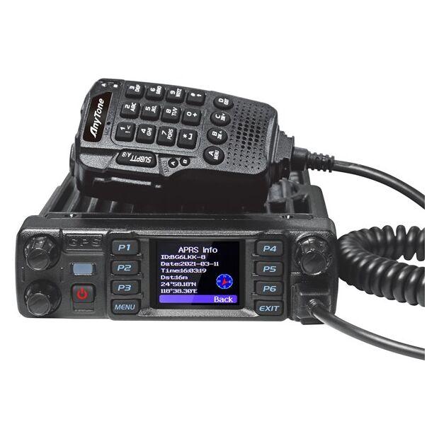 AnyTone AT-D578UV PLUS AIR Mobilfunkgerät mit Bluetooth