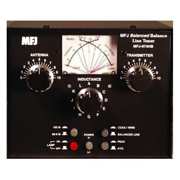 MFJ-974HB - Symmetrischer Antennentuner 160m - 6m