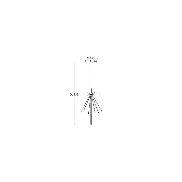 Diamond D-190 Discone 100-1300 MHz