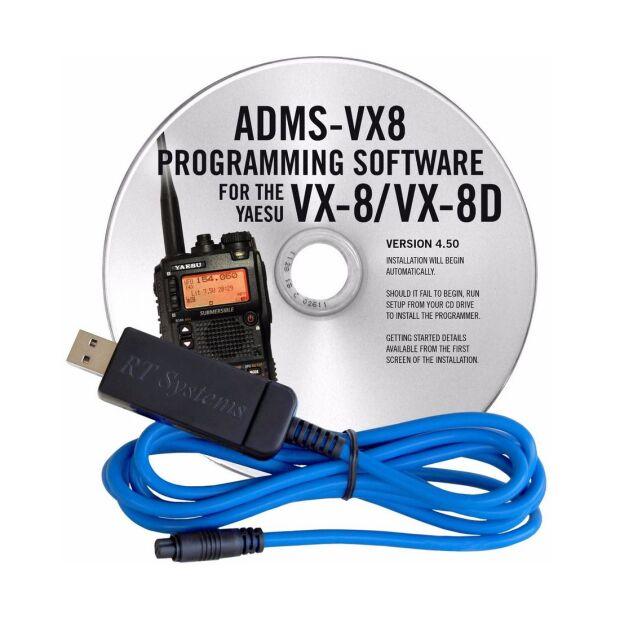 ADMS-VX8 Programmierkit VX-8GE (USB)