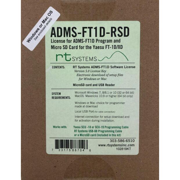 ADMS-FT1D - Programmierkit für FT-1DE