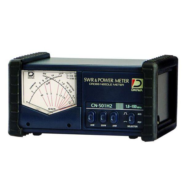 Daiwa CN-501H2 SWR-Meter für 1.5 - 150 MHz