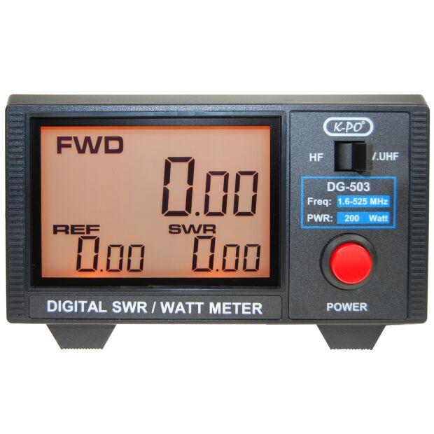 DG-503N SWR/Wattmeter mit LC-Display