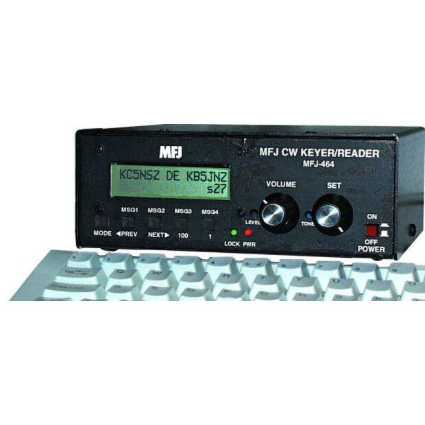 MFJ-464 CW-Decoder und Keyer