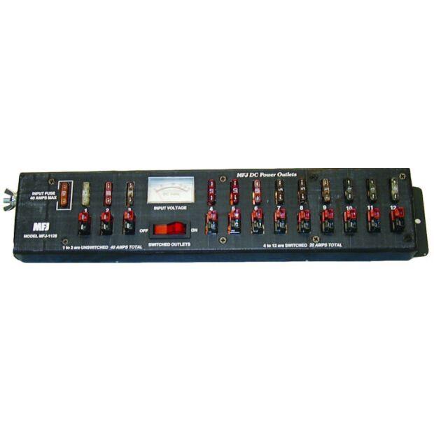 MFJ-1128 - PowerPole DC Leiste - 12 Geräte