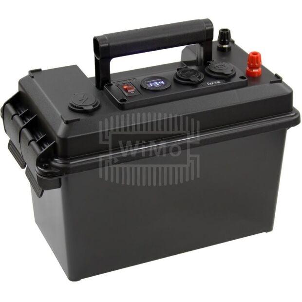 PowerBox - tragbares Stromversorgungssystem für Akkus