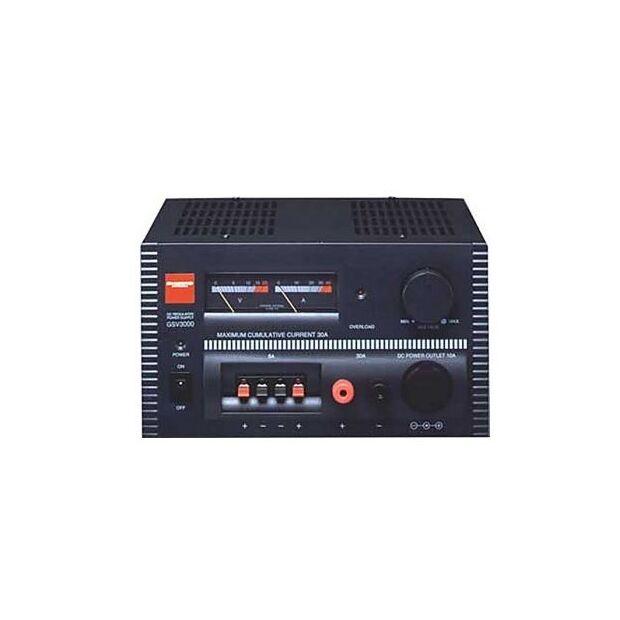 GSV-3000 30A m. 2 Instrumenten+Zig+Klemmen