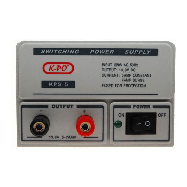 KPS-5 / SNT-1307 / SW35 Schaltnetzteil 13,8V 3/5 A