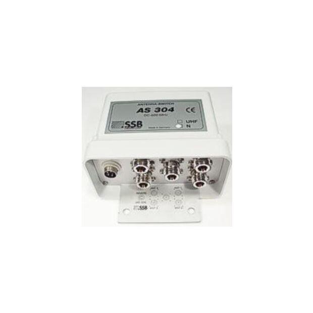 AS-304 Antennenschalter 4fach N ohne Fernspeisung