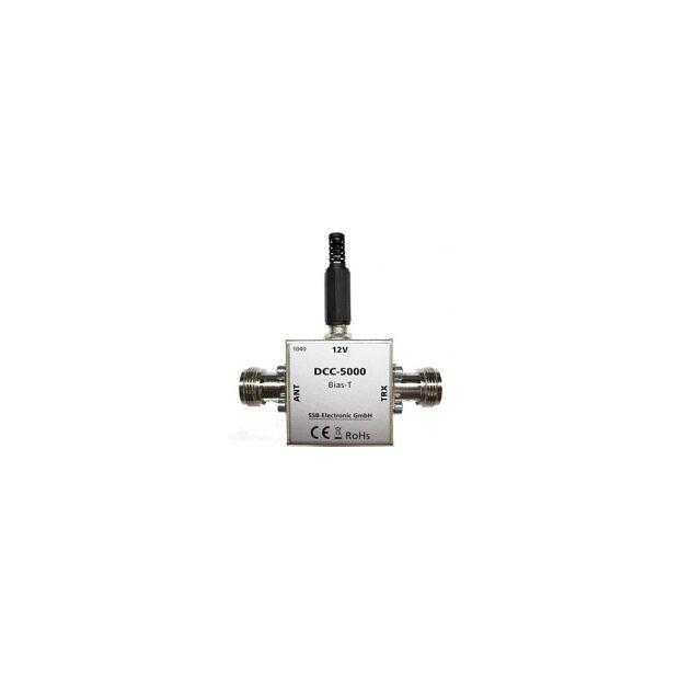 DCC-5000PRO Fernspeiseweiche bis 6 GHz