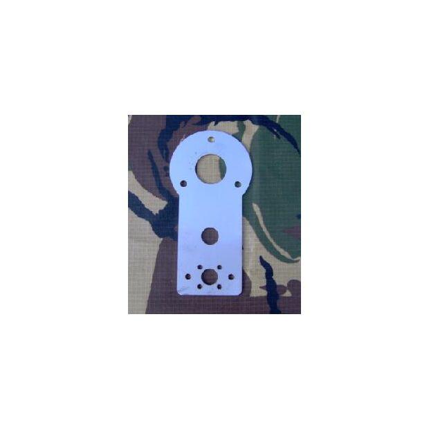 Multifunktions-Teller für Steckmastsegment aus GFK