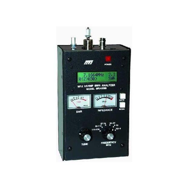MFJ-259D 1,8-170 MHz - HF/VHF SWR Analyzer
