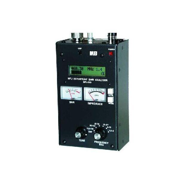 MFJ-269D 1,8-170 MHz + 415-470 MHz  Analyzer