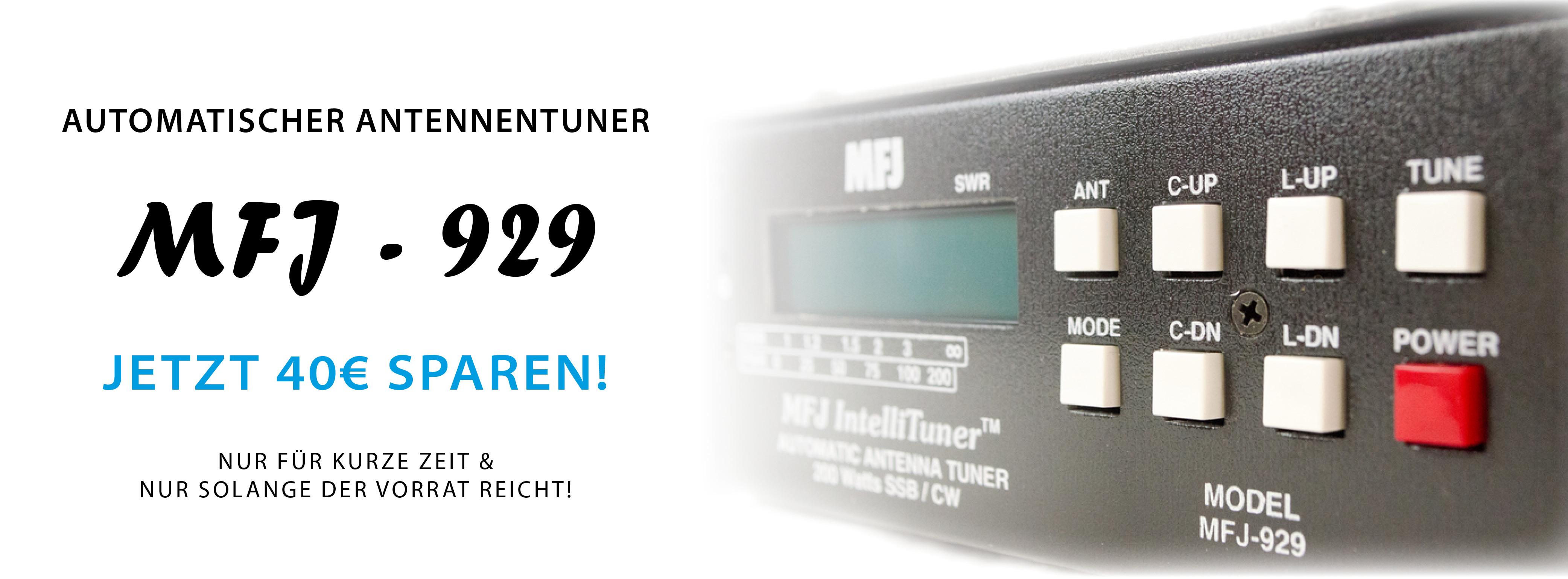 MFJ-929 zum Toppreis!